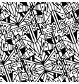 geometric hipster retro background with place vector image