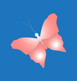 image of a butterfly vector image vector image