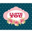 love design vector image