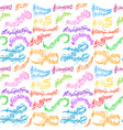 notes music melody colorful musician symbols vector image vector image