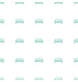 sofa icon pattern seamless white background vector image vector image