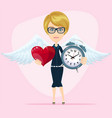 time to love vector image