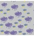 Cartoon flash clouds seamless pattern 633 vector image