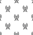 antenna seamless pattern vector image
