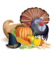 feast thanksgiving vector image