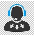 Operator Message Icon vector image vector image