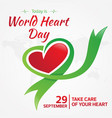 Today is world heart day