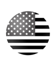 united states of america flag vector image vector image