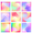 abstract blured color background vector image