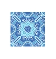 Azulejo Tilework Portuguese Famous Symbol vector image vector image