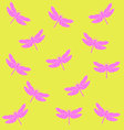 dragonflyPattern2 vector image vector image