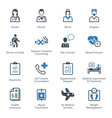 Medical and Health Care Icons Set 2 - Services vector image