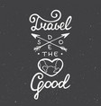 travel does heart good on vintage background vector image