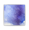 art abstract brush painted watercolor background vector image vector image