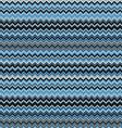 Blue chevrons seamless pattern background retro vector image