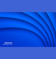blue wavy background business card pattern vector image