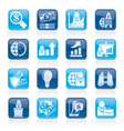 Business and Finance Strategies Icons vector image