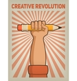 Creative revolution vector image