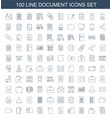 document icons vector image vector image
