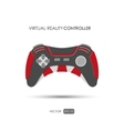 Hand controller for virtual reality system vector image vector image
