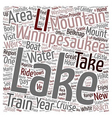 Lake Winnipesaukee New Hampshire s Playground text vector image vector image