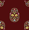 seamless texture skulls flower image vector image vector image