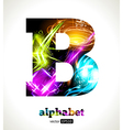 Design Abstract Letter B vector image vector image