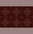 endless burgundy pattern vintage background vector image
