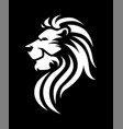 simple lion logo vector image