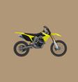 sport moto offroad technical model icon vector image vector image