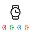 watch icon vector image vector image