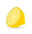 yellow lemons fresh lemons vector image