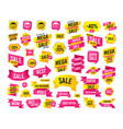 circle smile face icons happy sad cry vector image vector image
