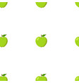 green apples seamless background pattern with vector image