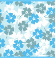 hibiscus seamless background vector image