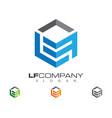 l letter logo business professional logo template vector image