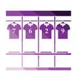 locker room icon vector image vector image