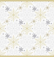 seamless christmas background with scattered gold vector image vector image