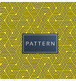 seamless honeycomb pattern modern yellow backgroun vector image