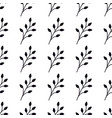 seamless pattern with branches elegant trendy vector image vector image