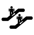 stairs symbols vector image vector image