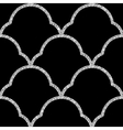 floral silver wallpaper vector image