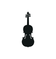 acoustic violin or fiddle vector image