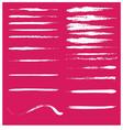 grunge-strokes vector image vector image
