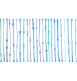 liquid organic blue stripe lines pattern on white vector image vector image