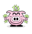 Rich Piggy Bank vector image vector image