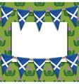 scotland decoration vector image