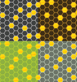 Seamless honey comb pattern