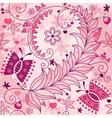 Seamless spring grunge pattern vector image vector image