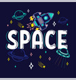 space print vector image vector image